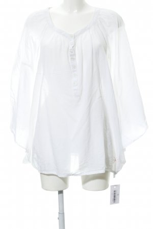gwynedds Oversized Blouse white Boho look