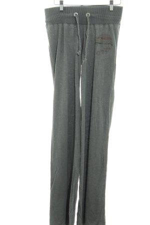 gwynedds Stoffhose grau schlichter Stil