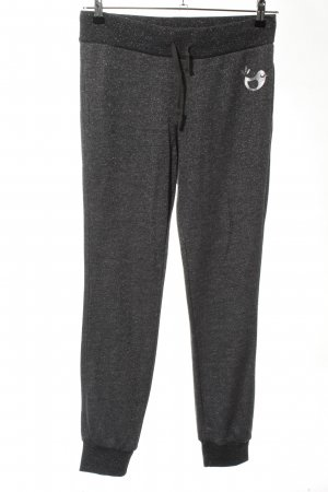 gwynedds Pantalone fitness grigio chiaro puntinato stile casual