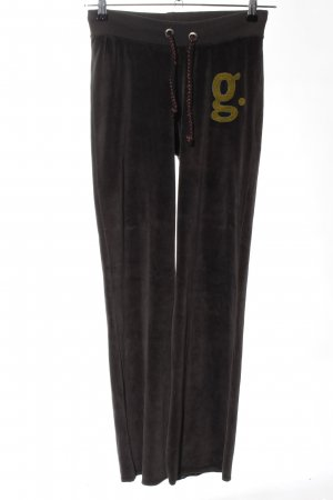 gwynedds Pantalone fitness nero stile casual