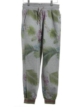 gwynedds Sweathose florales Muster sportlicher Stil