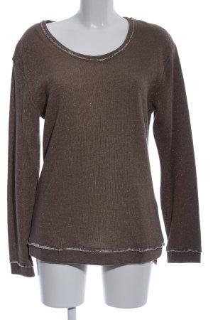 gwynedds Sweatshirt bruin casual uitstraling