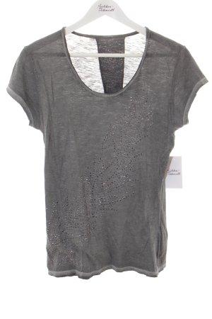 gwynedds T-Shirt grau schlichter Stil