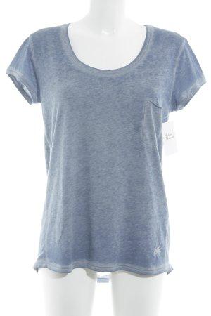 gwynedds T-Shirt graublau meliert sportlicher Stil