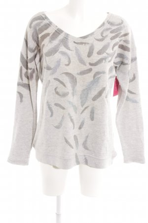 gwynedds V-Ausschnitt-Pullover Farbverlauf Casual-Look