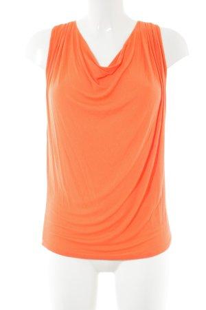 gwynedds Cowl-Neck Top light orange casual look