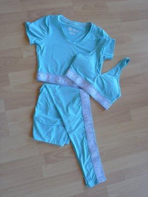 Pantalone da ginnastica turchese