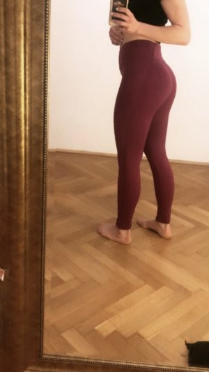 GYMSHARK Leggings purple-raspberry-red