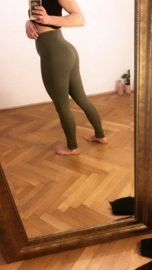 GYMSHARK Leggings khaki