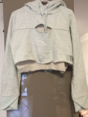 GYMSHARK Hooded Sweater mint