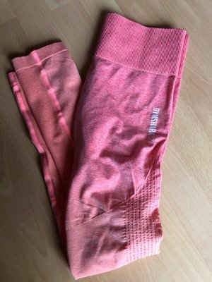 Gymshark Ombre Seamless Leggings in Peach Coral