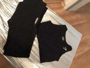 GYMSHARK Twin Set tipo suéter black