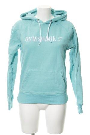 GYMSHARK Sweatshirt türkis Casual-Look