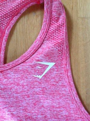 Gymshark Top, Pink/Rosa, Gr. M/S, neuwertig