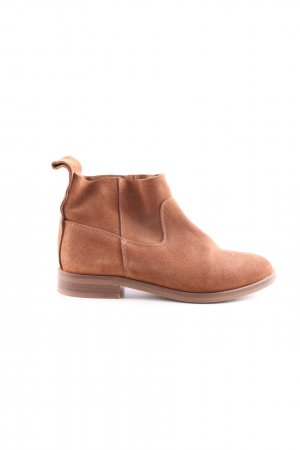 H by hudson Ankle Boots hellbraun Casual-Look