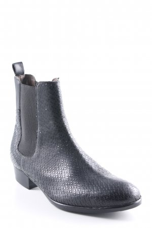 H by hudson Chelsea Boots schwarz Street-Fashion-Look