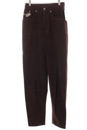 H.I.S High Waist Jeans dunkelbraun 80ies-Stil