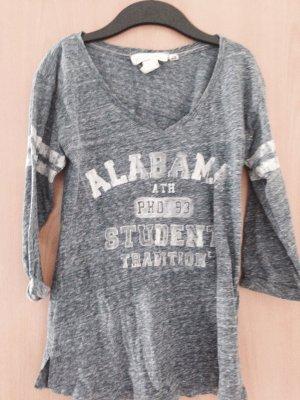 H&M 3/4 ärmliges Shirt mit Aufdruck Gr.XS