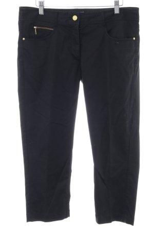 H&M Pantalon 3/4 noir style décontracté