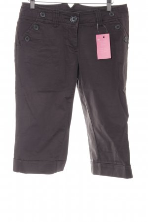 H&M 3/4 Length Trousers dark grey casual look