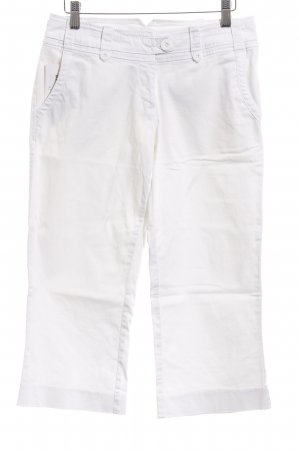 H&M 3/4 Length Trousers white casual look