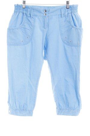 H&M Pantalone a 3/4 azzurro lavaggio acido