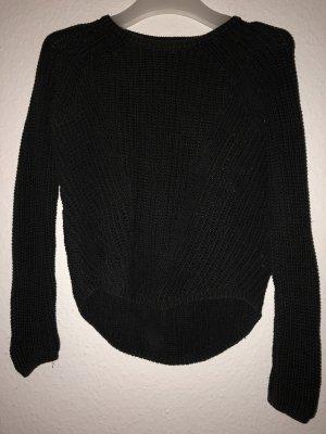 H&M Pullover all'uncinetto marrone-nero