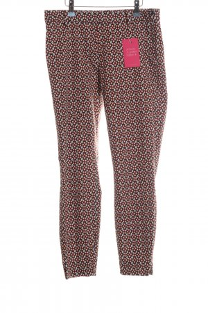H&M 7/8 Length Trousers allover print casual look