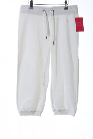 H&M Pantalón tobillero blanco look casual