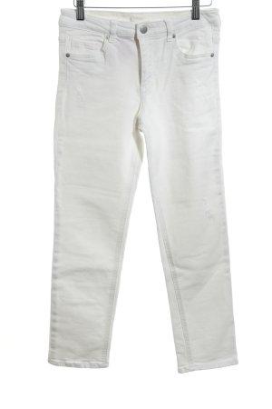 H&M Jeans a 7/8 bianco stampa integrale stile casual
