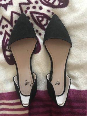 H&M Ballerinas with Toecap black