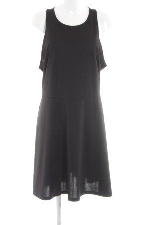 H&M A-Linien Kleid schwarz Business-Look