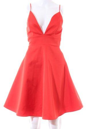 H&M Robe trapèze rouge élégant