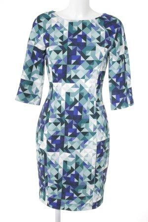 H&M A-Linien Kleid abstraktes Muster extravaganter Stil