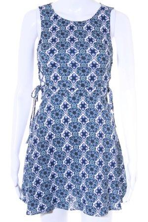 H&M A-Linien Kleid abstraktes Muster Romantik-Look