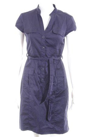 H&M A-Linien Kleid blauviolett Casual-Look
