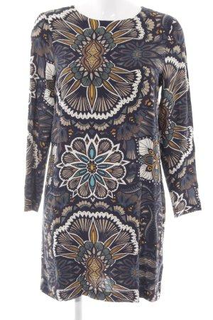 H&M A-Linien Kleid Blumenmuster extravaganter Stil