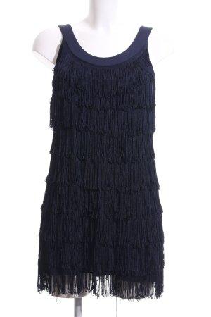 H&M A-Linien Kleid dunkelblau 20ies-Stil