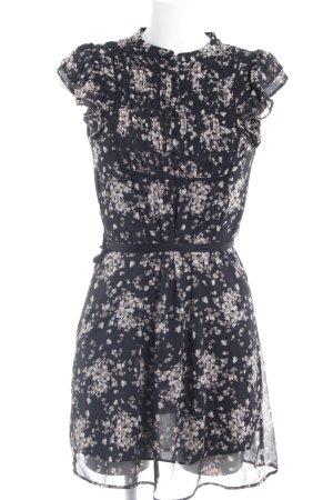 H&M A-Linien Kleid florales Muster Casual-Look