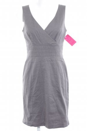 H&M A-Linien Kleid grau meliert Business-Look