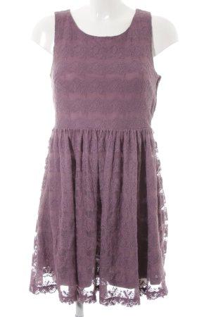 H&M A-Linien Kleid graulila Elegant