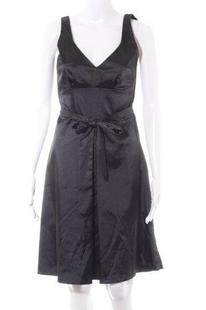 H&M A-Linien Kleid schwarz Party-Look