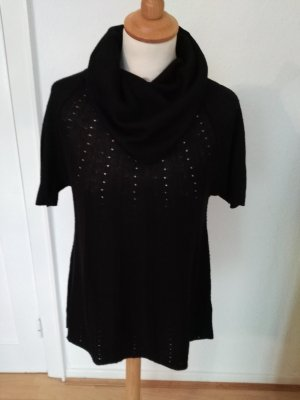 H&M Short Sleeve Sweater black