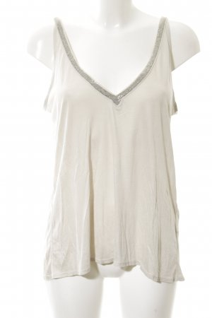 H&M A-Linien Top wollweiß Casual-Look