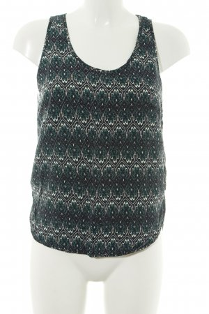 H&M A-Linien Top Allover-Druck Casual-Look