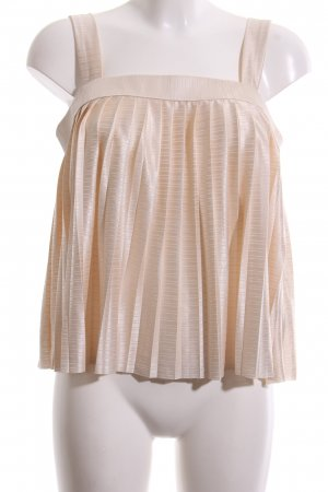 H&M A Line Top nude-cream elegant