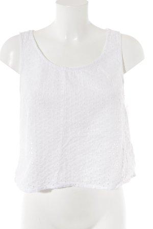 H&M A-Linien Top weiß Casual-Look