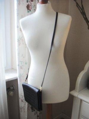 H&M Mini sac noir faux cuir