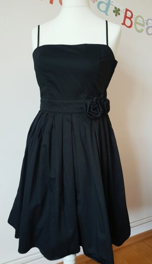 H&M Pinafore dress black cotton