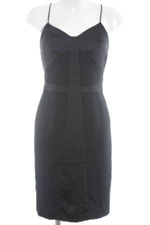 H&M Abendkleid dunkelblau Elegant